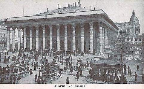La Bourse de Paris (palais Brongniart)